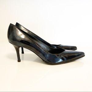 Stuart Weitzman Patent Leather Pointed Toe Pumps